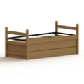 Four Drawer Captain's Bed - XL Twin, 65031