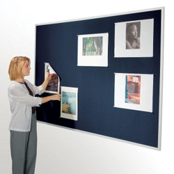 "96""W x 48""H Fabric Tack Board, 80244"