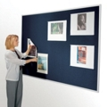 "120""W x 48""H Fabric Tack Board, 80245"
