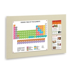 "36""W x 24""H Fabric Wrapped Tack Board, 80247"