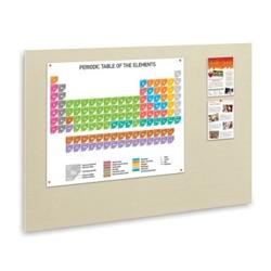 "48""W x 34""H Fabric Wrapped Tack Board, 80356"