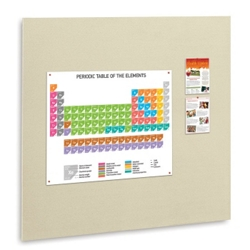 "48""W x 48""H Fabric Wrapped Tack Board, 80454"