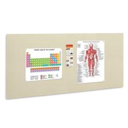 "96""W x 48""H Fabric Wrapped Tack Board, 80456"