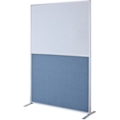 4ft W x 6ft H Modular Panel with Fabric and Whiteboard Panels, 22556