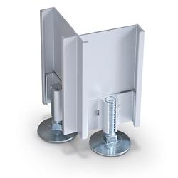 Standard Modular Panels 2-Way 90 Degree Connector Leg, 22566