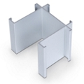 Standard Modular Panels 3-Way 90 Degree Connector, 22567