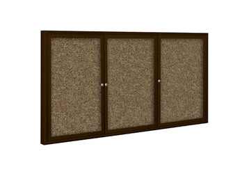 "Indoor Enclosed Board 96"" x 48"", 80723"