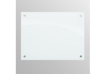 1.5 ft x 2 ft Tempered Glass Dry Erase Board, 80532