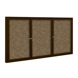 "72"" x 48"" Outdoor Rubber Bulletin Board, 80360"