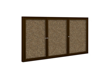 "96""W x 48""H Outdoor Rubber-Tak Board , 80595"