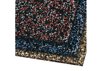 Peel and Stick Rubber Surface - 10ft x 4ft, 80666