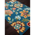 Rich Flower Pattern Area Rug - 7.5'W x 9.5'D, 82529