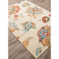Gentle Flower Pattern Area Rug - 5'W x 7.5'D, 82530