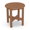 "Outdoor Round End Table 20""H, 41582"