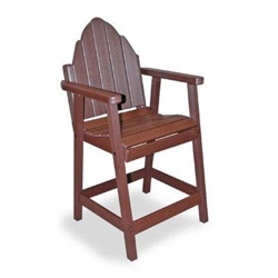 Outdoor Bistro Height Adirondack Chair, 51401
