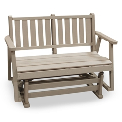 "Capri Low Back Glider Bench 48"", 51416"