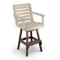 Garden Bar Height Swivel Chair, 51420