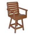 Garden Bistro Height Swivel Chair, 51422