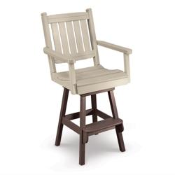 Day Break Mid Back Bar Height Swivel Chair, 51424