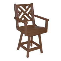 Chippendale 2 Bistro Height Swivel Chair, 51435