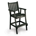 Capri Low Back Bar Height Chair, 51436