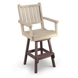 Capri Low Back Bar Height Swivel Chair, 51437
