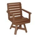 """Garden Swivel Seat Chair 20""""W, 51447"""