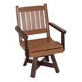 "Day Break Mid Back Swivel Seat Chair 20""W, 51451"