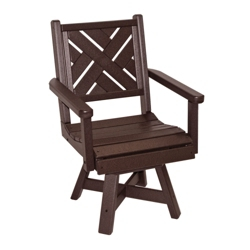 Chippendale 1 Swivel Seat Dining Chair, 51453