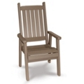 "Days End High Back Chair 20""W, 51458"