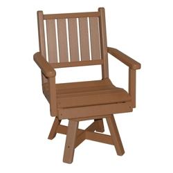 "Capri Low Back Swivel Seat Chair 20""W, 51464"