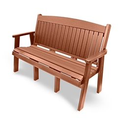 """Outdoor Bench - 60""""W, 82315"""