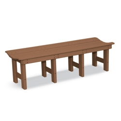 """Backless Bench 60""""W, 85355"""
