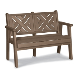 """Chippendale 1 Bench 48""""W, 85359"""