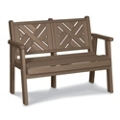 """Chippendale 1 Bench 60""""W, 85360"""