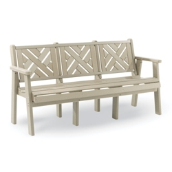 """Chippendale 1 Bench 72""""W, 85361"""