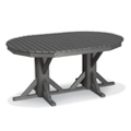 "Oval Dining Table 88"" x 46"", 85396"