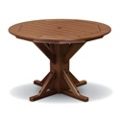 "Framed Round Table 51"" Diameter, 85407"