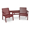 Garden Chairs with Table Set, 85515