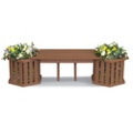 Backless Planter Bench, 85522