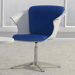 Fabric Bucket Chair with Swivel Return, 56406