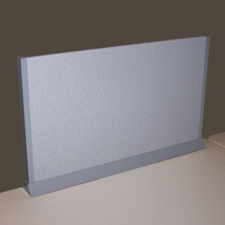 "Desktop Fabric Screen - 60"" x 13"", 21257"