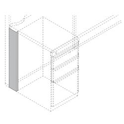 """Left Pedestal Panel Spacer - 4"""", 21754"""