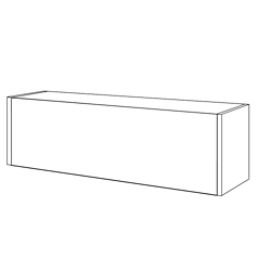 "Cabinet with Flipper Door - 30""W, 36967"