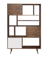"8 Compartment Large Bookcase - 71""H, 33088"