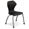 "Polypropylene 16"" H Stack Chair, 51080"