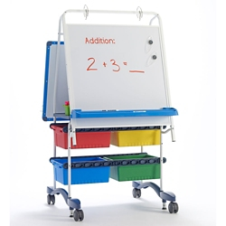 "White Board Reading and Writing Center - 31.5""W x 56.5""H, 81010"