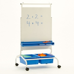 """Deluxe White Board Chart Stand - 28""""W x 69.5""""H, 81004"""