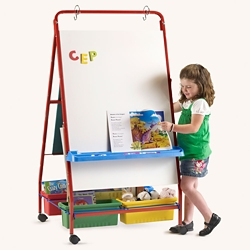 "Primary Teaching Easel - 30""W x 56.25""H, 81008"