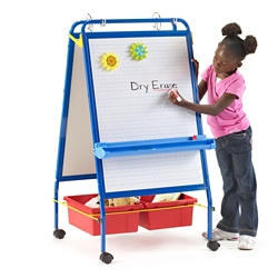 "Two-Sided Early Learning Station - 26.5""W x 48""H, 81005"